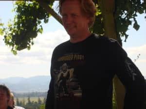Thomas Houseman, wine maker and former dance