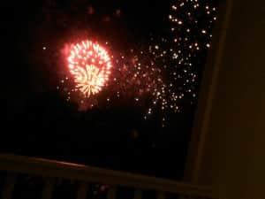 Fourth Fireworks