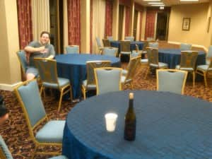 wbc empty room