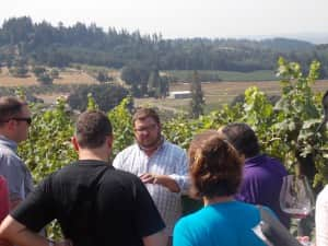 Wilamette Vineyards Winemaker Photo Credit