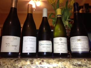 Vouvray line up