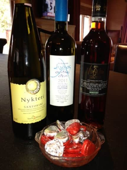 Superbowl Greek Wines