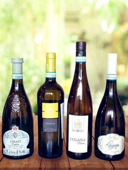 Lugana wine