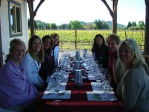 Senseless Women with Wine