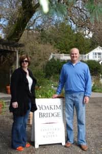 Dan and Dawn Kahle Napa Yoakim Bridge (2)