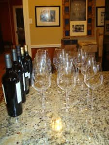 Evening of Review Wines