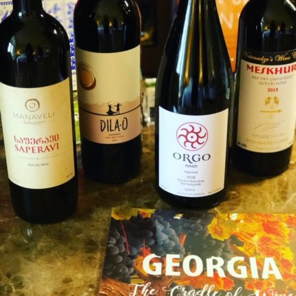 Georgia and Middle East wine