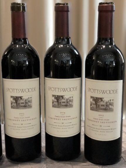 spottswoode estate vineyard and winery