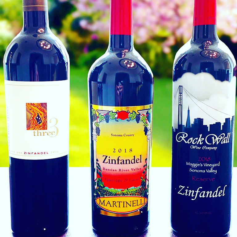 Zinfandel Wines - Rock wall