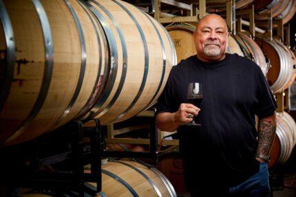 Barrel Room and Winemaker
